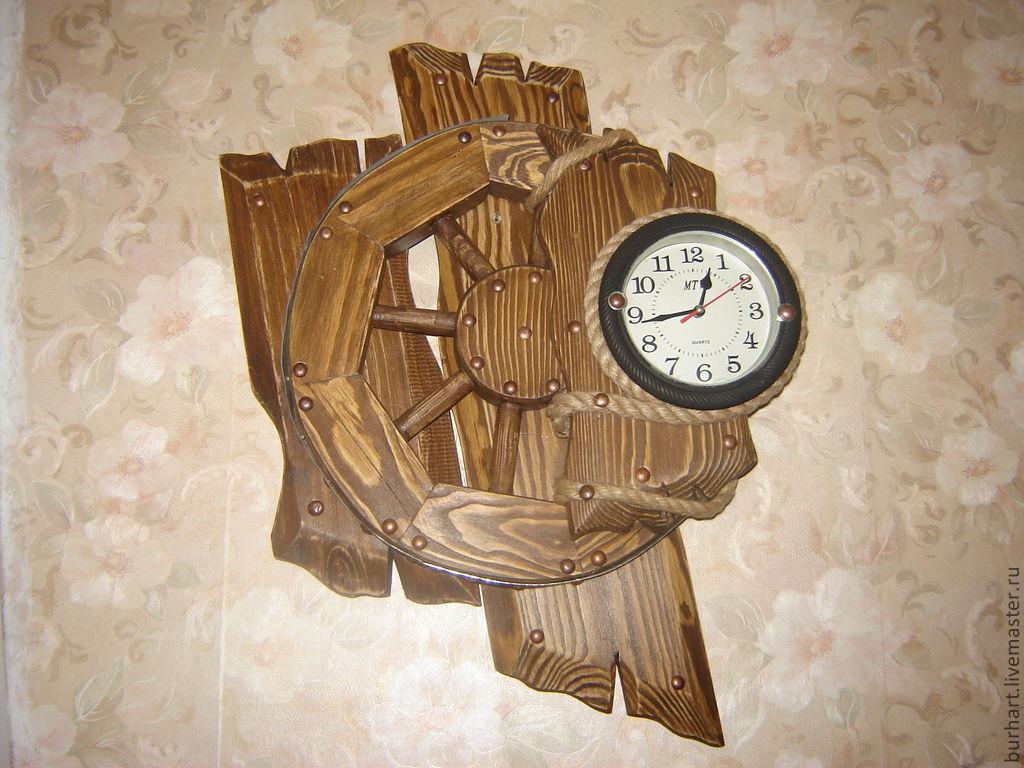 Часы новогодние - поделка купить в Москве на Avito