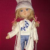 Кукла текстильная Малышка с набором одежды