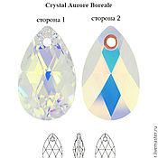 Кристаллы ручной работы. Ярмарка Мастеров - ручная работа Swarovski 6106 16 x 9 мм Crystal AB. Handmade.