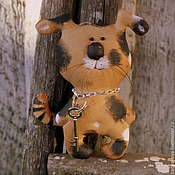 Куклы и игрушки ручной работы. Ярмарка Мастеров - ручная работа Собака Барбос.. Handmade.