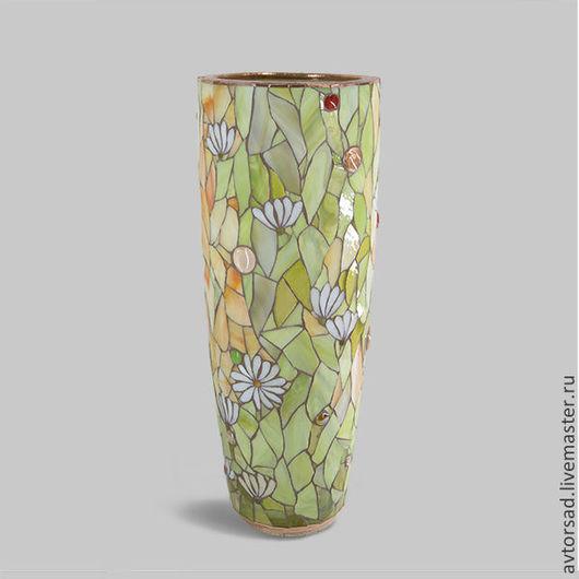 Мозаичная ваза