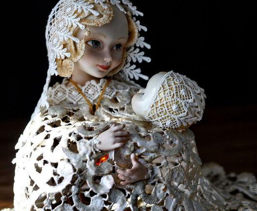 Коллекционные куклы ручной работы. Ярмарка Мастеров - ручная работа. Купить Ода к радости. Handmade. Белый, фарфор
