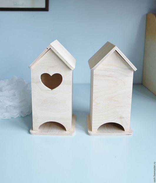 заготовка для декупажа чайный домик №1  чайный домик с сердечком №2  чайный домик глухой