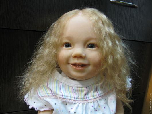 Куклы-младенцы и reborn ручной работы. Ярмарка Мастеров - ручная работа. Купить Кукла реборн. Handmade. Оранжевый, кукла реборн