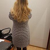 Одежда ручной работы. Ярмарка Мастеров - ручная работа Кардиган из толстой шерсти мериноса. Handmade.