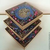 Украшения ручной работы. Ярмарка Мастеров - ручная работа Подарочные коробочки для веночков. Handmade.