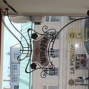 Дизайн и реклама ручной работы. Ярмарка Мастеров - ручная работа Вывеска в стиле модерн. Handmade.