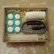 """Подарки к праздникам ручной работы. Ярмарка Мастеров - ручная работа Набор мыла""""Подарок доктору-2"""". Handmade."""