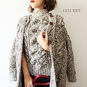 Одежда handmade. Livemaster - original item Cardigan and top female. Handmade.