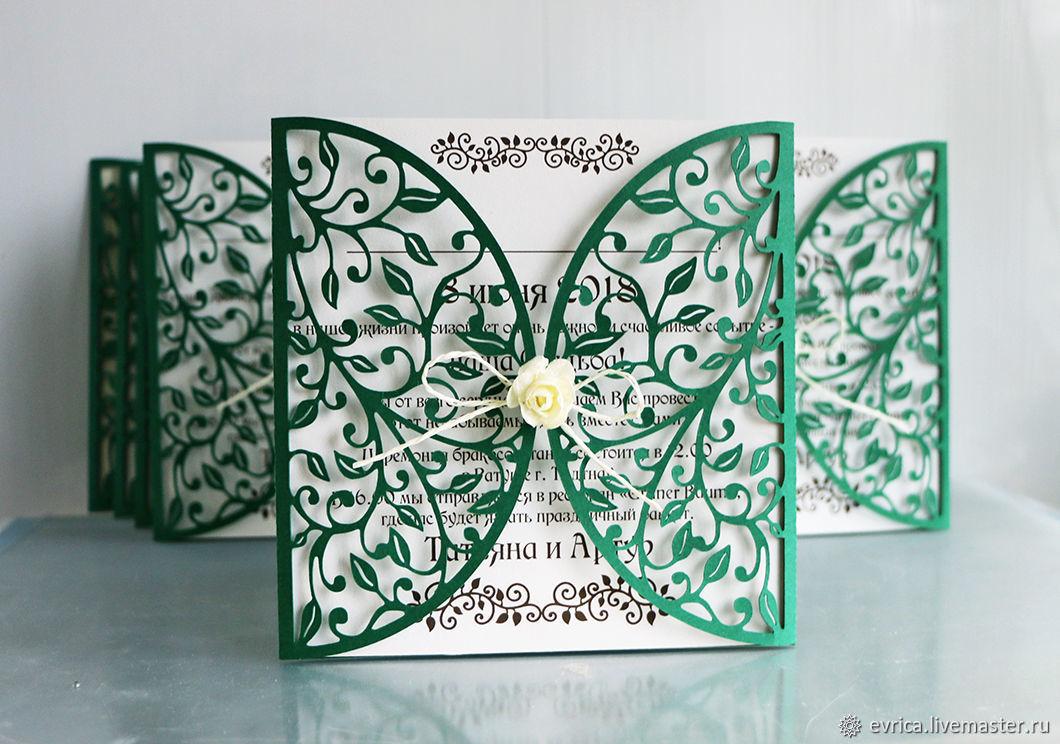 'Foliage' invitations, Invitations, Moscow,  Фото №1