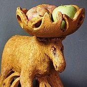 """Для дома и интерьера ручной работы. Ярмарка Мастеров - ручная работа Керамическая интерьерная скульптура """"Лось"""". Handmade."""
