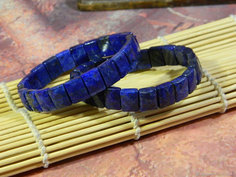 Bracelet with lapis lazuli amulet amulet. PCs, Bead bracelet, Saratov,  Фото №1