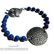 Украшения handmade. Livemaster - original item bracelet Deep Blue. Handmade.