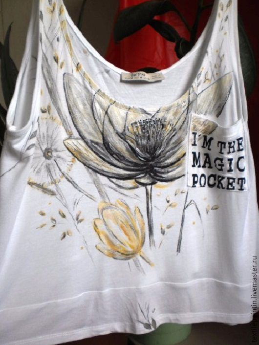 Футболки, майки ручной работы. Ярмарка Мастеров - ручная работа. Купить футболка в стиле Бохо. Handmade. Ручная работа handmade