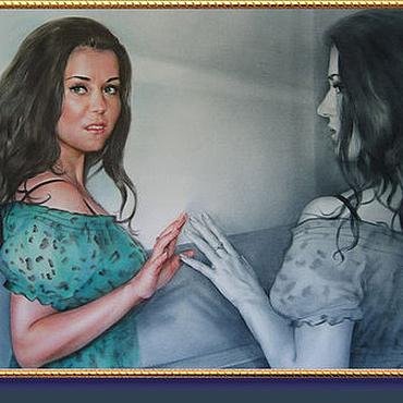 Картины и панно ручной работы. Ярмарка Мастеров - ручная работа Портрет  по фото на заказ. Handmade.