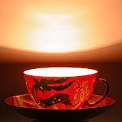 """Для дома и интерьера ручной работы. Ярмарка Мастеров - ручная работа Светильник """"Чайная пара"""". Handmade."""