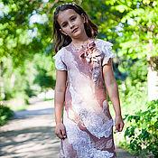 Одежда ручной работы. Ярмарка Мастеров - ручная работа Зефирное платье. Handmade.