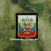 Материалы для творчества handmade. Livemaster - original item stripe the coat of Arms of Russia (tricolor). Handmade.
