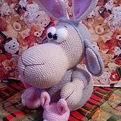 Мягкие игрушки ручной работы. Ярмарка Мастеров - ручная работа Игрушки: Овечка в костюме зайца. Handmade.