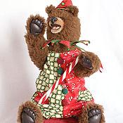 Куклы и игрушки ручной работы. Ярмарка Мастеров - ручная работа Рождественский мишка Ноэль. Handmade.