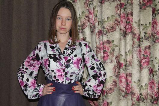 Блузки ручной работы. Ярмарка Мастеров - ручная работа. Купить Блузка. Handmade. Блузка, интересные изделия, красивая одежда