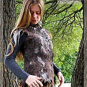 """Одежда ручной работы. Ярмарка Мастеров - ручная работа Жилет """"Каменный век"""". Handmade."""