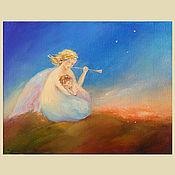 Картины и панно ручной работы. Ярмарка Мастеров - ручная работа Мелодия  ангела. Handmade.
