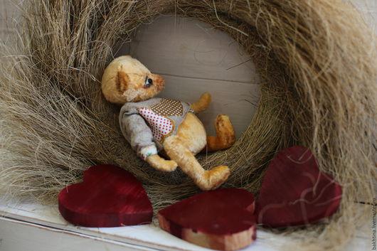 Мишки Тедди ручной работы. Ярмарка Мастеров - ручная работа. Купить Мишка Тедди Степка. Handmade. Бежевый, интерьерная игрушка