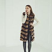 Одежда ручной работы. Ярмарка Мастеров - ручная работа Меховой жилет из лисы. Handmade.