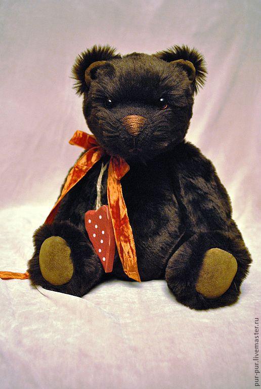 Мишки Тедди ручной работы. Ярмарка Мастеров - ручная работа. Купить Шоколадный Маффин. Handmade. Коричневый, мишки Тэдди, плюш
