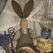 Куклы и игрушки ручной работы. Ярмарка Мастеров - ручная работа Зайка- кантри. Handmade.