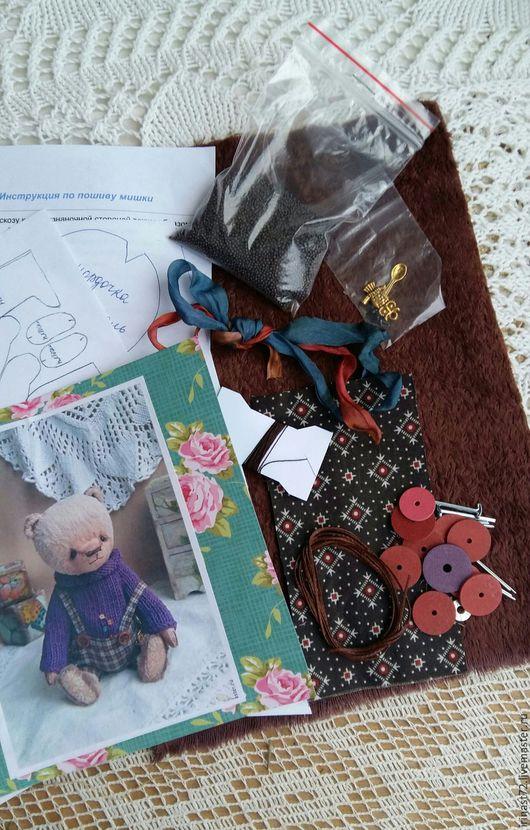 Куклы и игрушки ручной работы. Ярмарка Мастеров - ручная работа. Купить Набор для шитья мишки. Handmade. Комбинированный, выкройка
