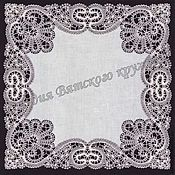 Материалы для творчества handmade. Livemaster - original item Braid to a ladies handkerchief Vologda Vyatka lace. Handmade.