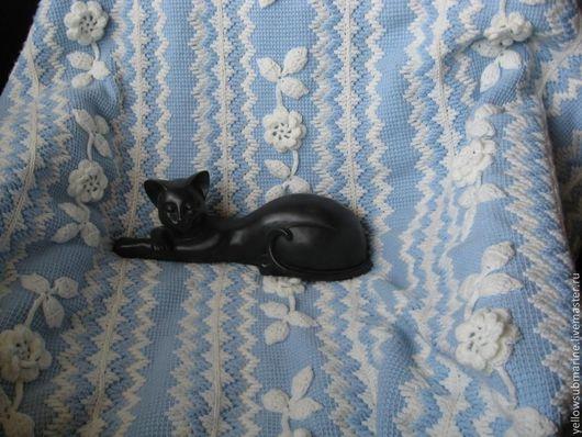 Текстиль, ковры ручной работы. Ярмарка Мастеров - ручная работа. Купить Плед бело-голубой. Handmade. Голубой, плед, нежный