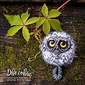 Украшения handmade. Livemaster - original item Brooch pendant owl. Handmade.