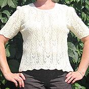 Одежда ручной работы. Ярмарка Мастеров - ручная работа блузка Бабочка. Handmade.