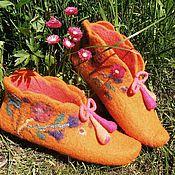 Обувь ручной работы. Ярмарка Мастеров - ручная работа Башмачки,,Маргаритка``. Handmade.