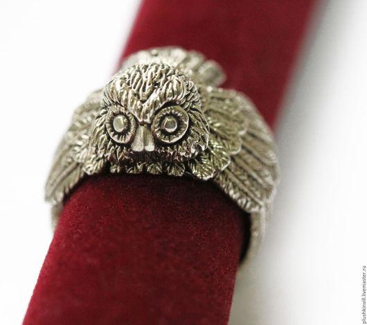 """Кольца ручной работы. Ярмарка Мастеров - ручная работа. Купить Кольцо """"Сова"""". Handmade. Кольцо, кольцо разъемное, кольцо медь"""