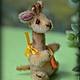 Мишки Тедди ручной работы. Ярмарка Мастеров - ручная работа. Купить Жирафик Жулли. Handmade. Бежевый, хлопок