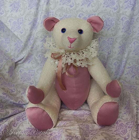 Мишки Тедди ручной работы. Ярмарка Мастеров - ручная работа. Купить мишка Эльза. Handmade. Текстильная игрушка, helga potaki