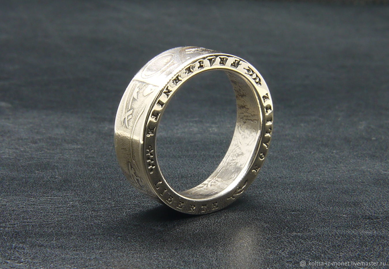A ring from a coin 10 francs, France, Rings, Belovo,  Фото №1