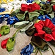 Женские сумки ручной работы. Сумка вышитая лентами. юлия (ribbon55). Ярмарка Мастеров. Разнотравье, насекомые, габардин