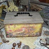 """Для дома и интерьера ручной работы. Ярмарка Мастеров - ручная работа """"Поющие в терновнике"""" хлебница. Handmade."""