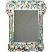 Зеркало Нарциссы в мозаичной раме