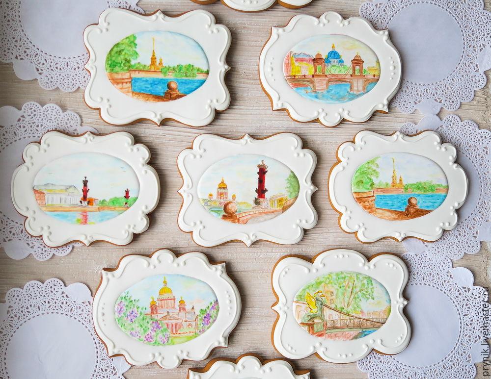 gingerbread Saint Petersburg, Gingerbread Cookies Set, St. Petersburg,  Фото №1