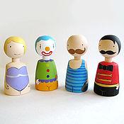Куклы и игрушки ручной работы. Ярмарка Мастеров - ручная работа Цирк!. Handmade.