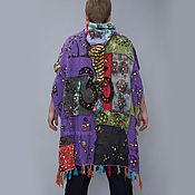 """Одежда ручной работы. Ярмарка Мастеров - ручная работа Этно - пончо """"Ом"""". Handmade."""