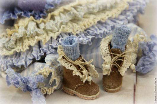 Одежда для кукол ручной работы. Ярмарка Мастеров - ручная работа. Купить Комплект для куклы  стиль бохо , шебби шик. Handmade.