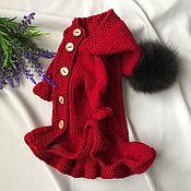 Пальто ручной работы. Ярмарка Мастеров - ручная работа Пальто для собак. Handmade.