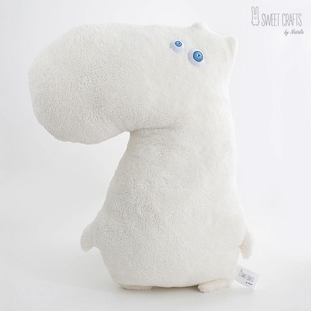 Velour pillow toy Moomin, Pillow, Nizhny Novgorod,  Фото №1